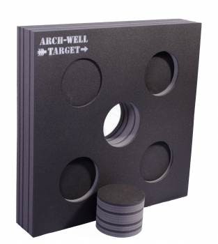 "ARCH-WELL Target  ""BIG FIVE""  135x135x20 cm"